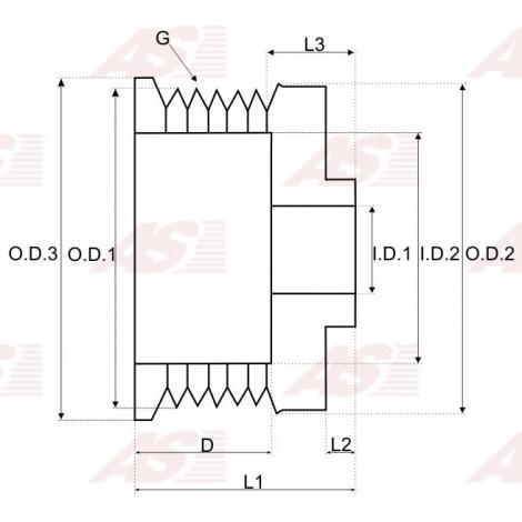 Skriemulys / generatoriaus paprastas