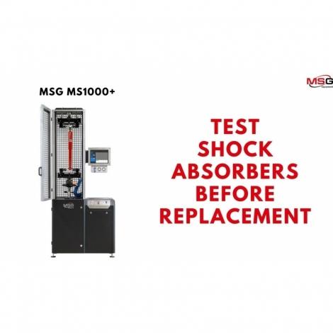 Stendas amortizatorių testavimui / MS1000+