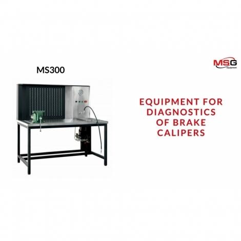 Stendas stabdžių suportų diagnostikai / MS300