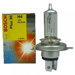 Light bulb H4 12V 60/55W Plus 3