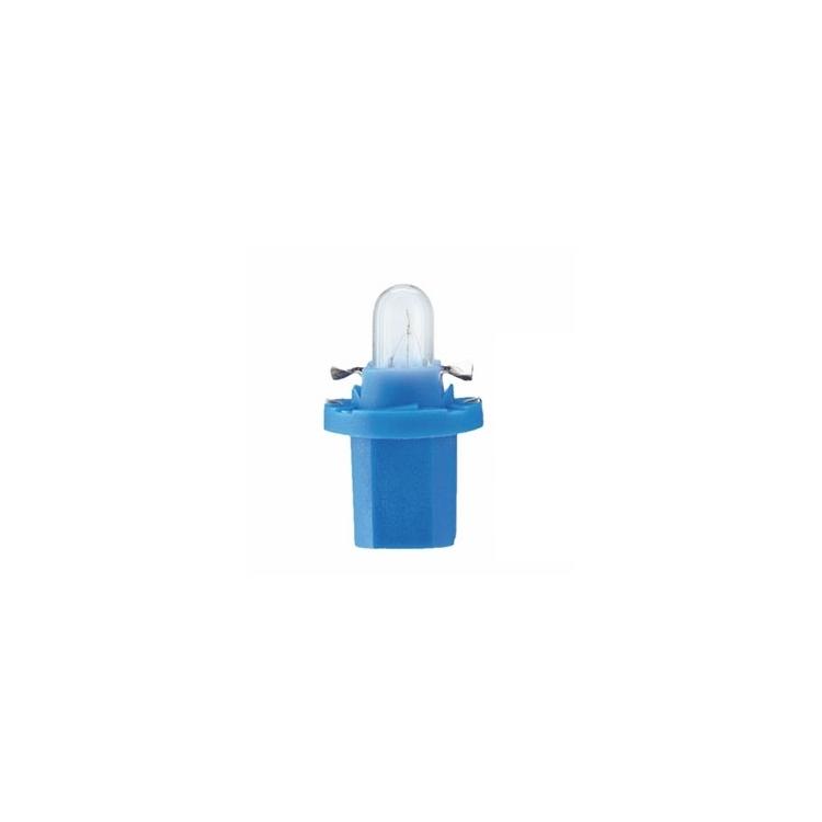 Lemputė NARVA 12V 1,2W BX8,4D BLUE