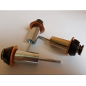 Plungers for solenoids